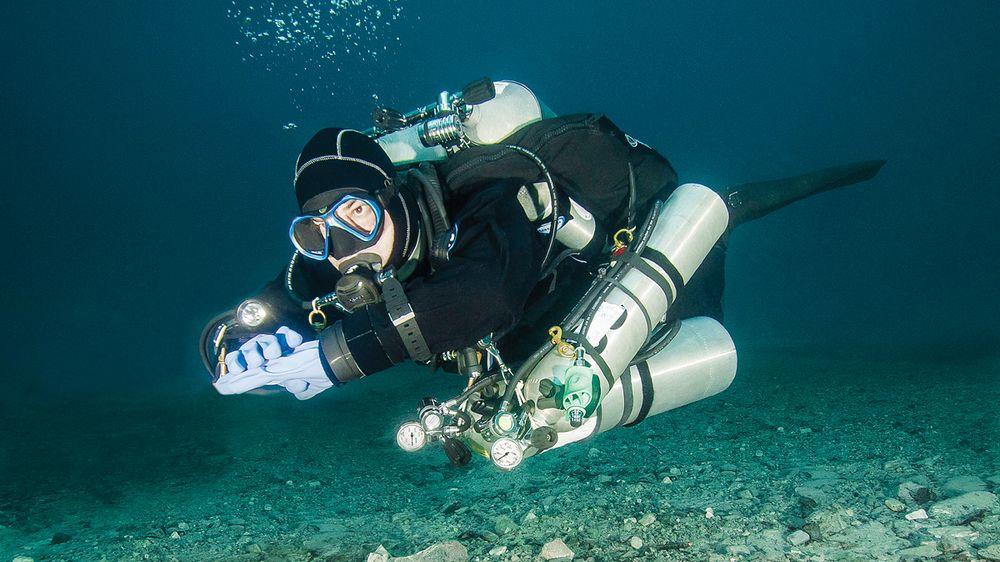 Scuba Diver Michel Labrecque
