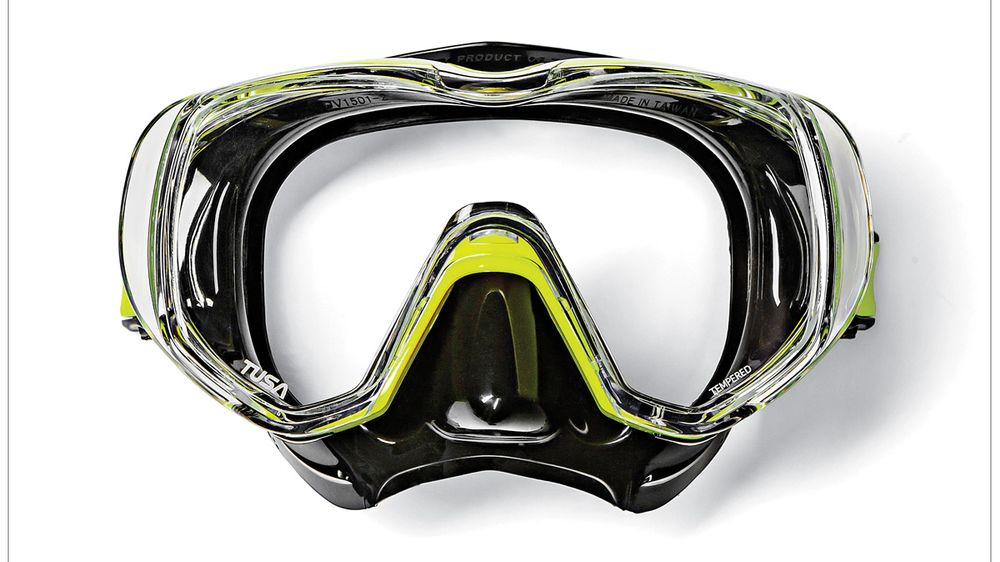 tusa scuba diving mask