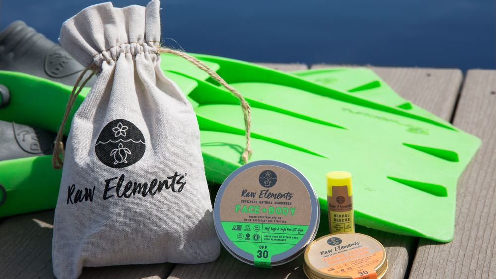 Raw Elements sunscreen giveaway
