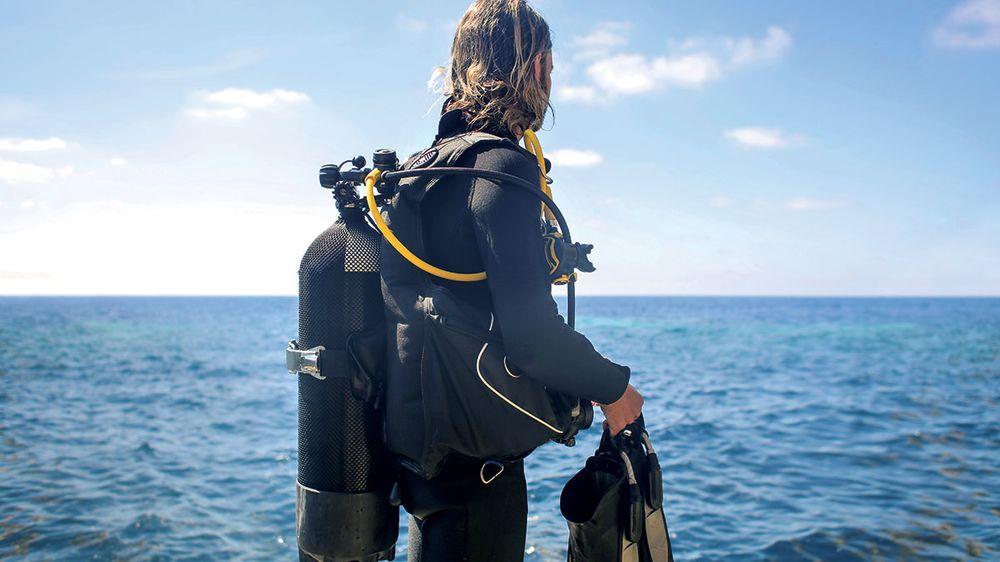 scuba training course