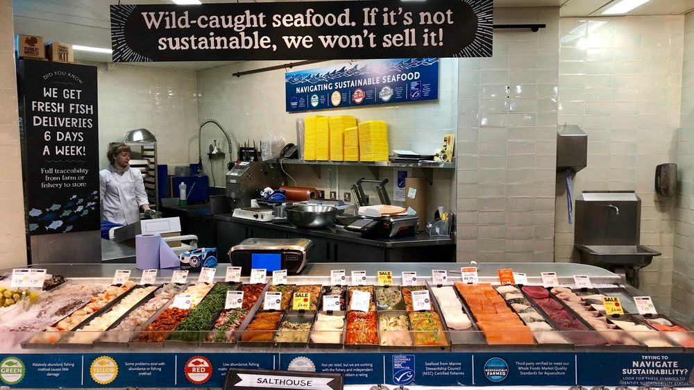sustainable seafood for sale