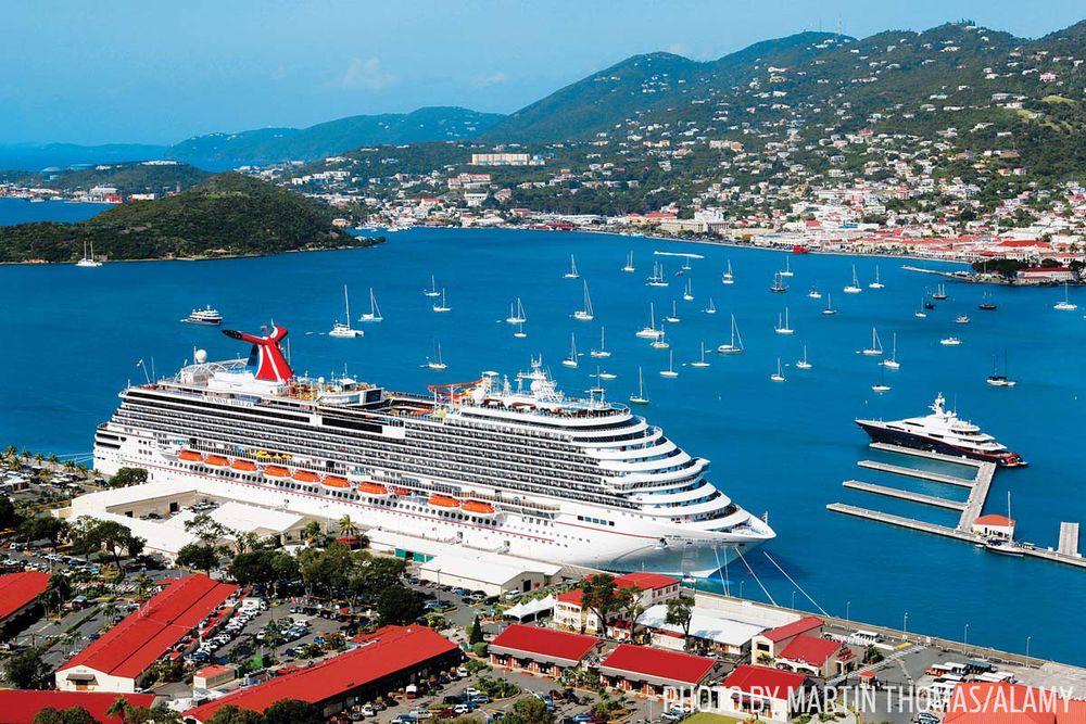 Cruise line travel penetration