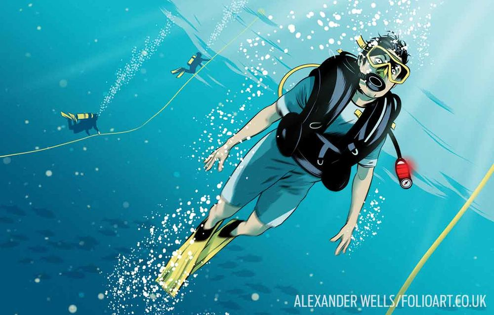 how to make safe scuba diving ascents sport diver