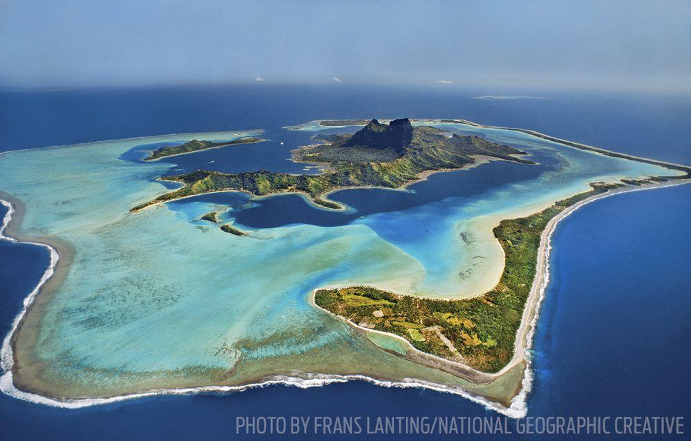 Bora Aerial Photo