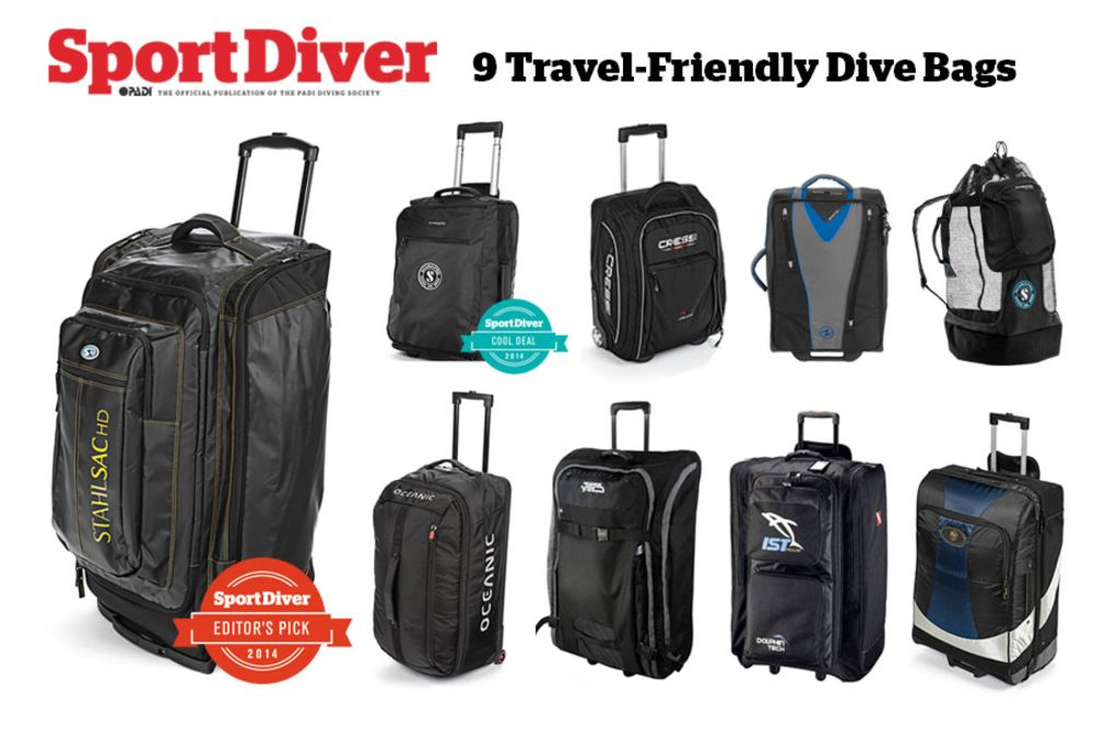 Dive Gear 9 Travel Friendly Roller Bags