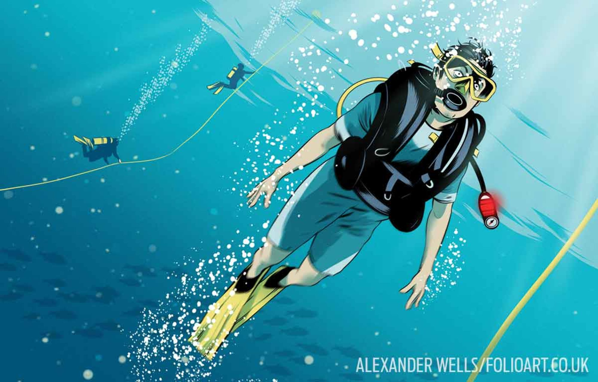 How To Make Safe Ascents While Scuba Diving