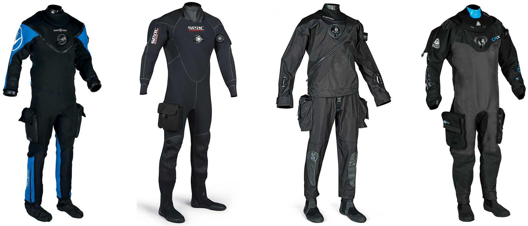 Best Scuba Diving Drysuits