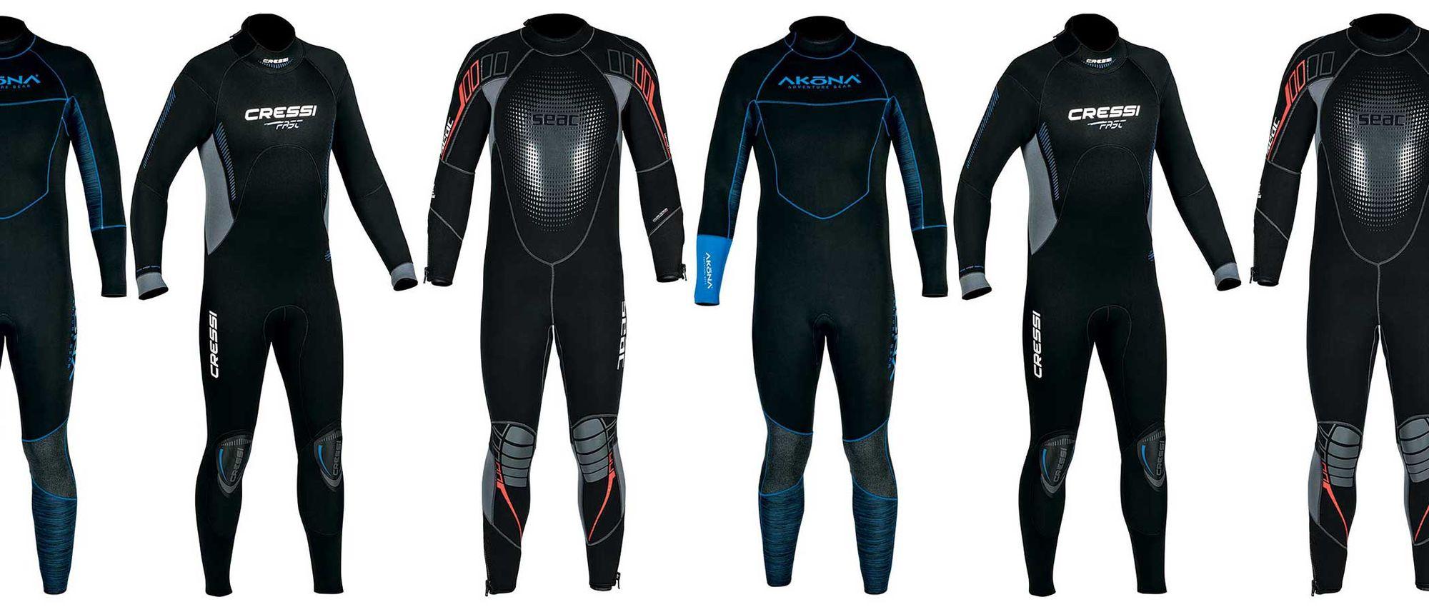Best Scuba Diving Men's Wetsuits