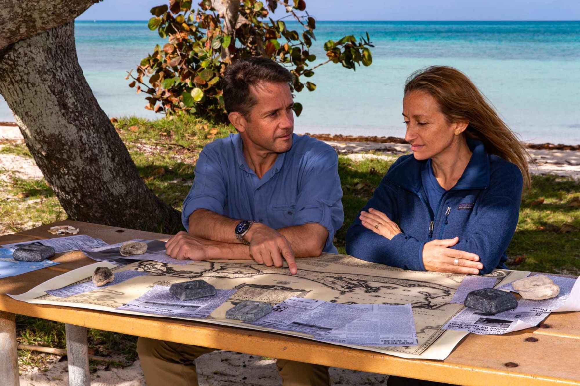 Céline and Fabien Cousteau Team Up with The Science Channel For New Series Legends of the Deep