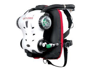 Hollis Explorer scuba rebreather