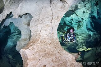 Grotta Dei Fantasmi cave scuba diving