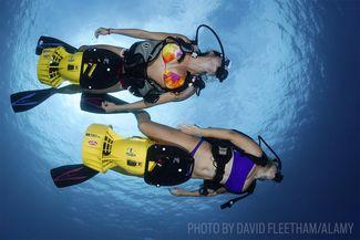 scuba diving dpv scooter