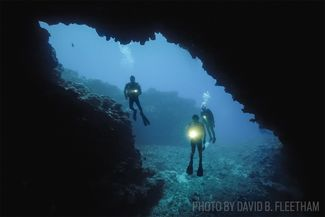 first cathedral hawaii scuba diving