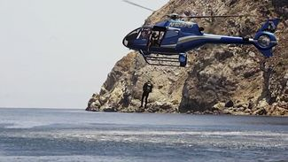 helicopter scuba diving