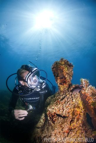 italy archeological scuba diving