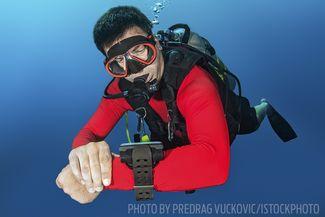 underwater navigation skills scuba diving