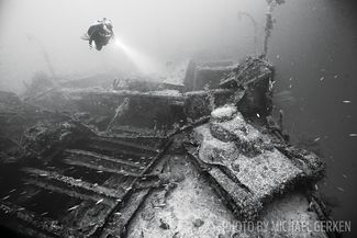 scuba diving chuuk lagoon san francisco maru