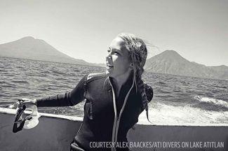 PADI AmbassaDiver Alex Baackes Takes You Along for Her Journey Around the World