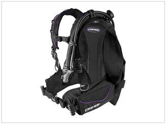 Cressi Ultralight BC scuba gear for travelers