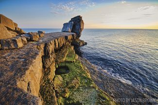 Jurassic Coast in southern England