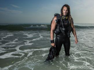 army veteran scuba diving