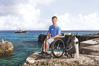 adaptive scuba diving paraplegic