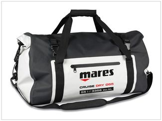 Mares Cruise Dry D55 bag travel friendly scuba gear