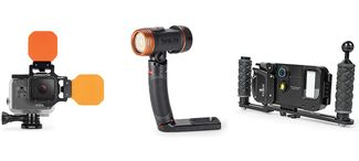 dive camera lights and accessories