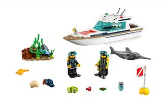 Lego Introduces New Diving Yacht