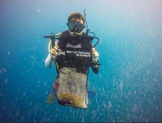 Make Every Dive A Survey Dive for a Clean Ocean