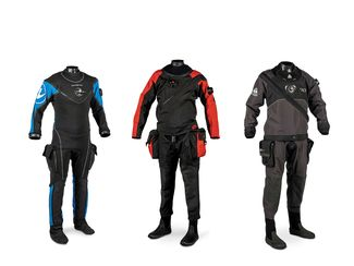 Three New Top-of-The-Line Drysuits