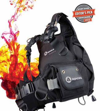 Editor 39 s pick spotlight bcs apeks black ice sport diver - Apex dive gear ...