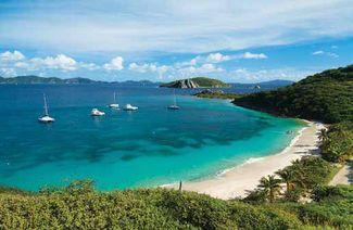 British Virgin islands resort