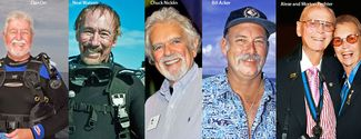 2014 Scuba Diving Hall of Fame Inductees
