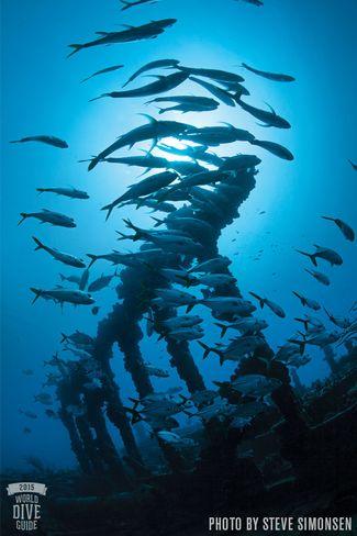 RMS Rhone - British Virgin Islands