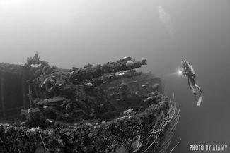 USS Saratoga CV-3 - Bikini Atoll