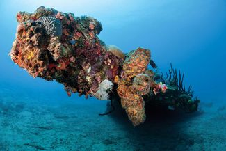 rhone bvi scuba diving