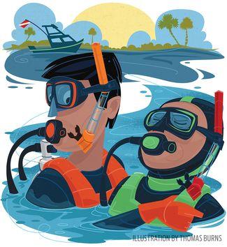 Scuba Diving Training Tips: Double Leg Cramps