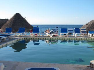 Scuba Club Cozumel pool