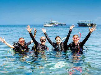 PADI Total Submersion 2016