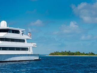 Four Seasons Explorer cruising around the Maldives