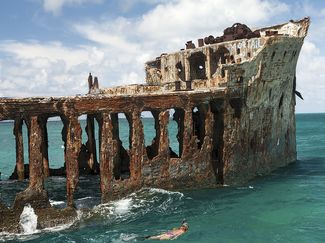 Sapona shipwreck bahamas