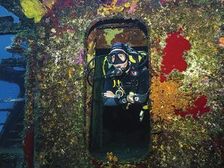 Felipe Xicoténcatl C-53 shipwreck scuba diving