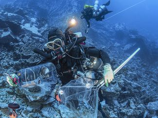 easter island underwater research