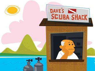 how to vet scuba diving operator