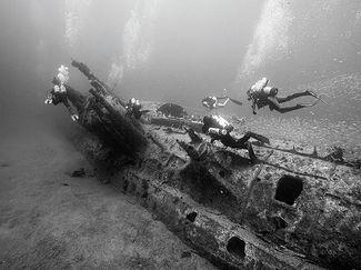 Wreck diving U-352 in North Carolina