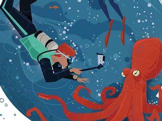 low air scare scuba diving