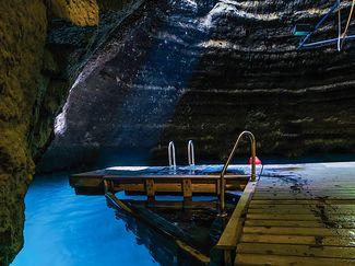 Scuba Diving Utah Hot Spring