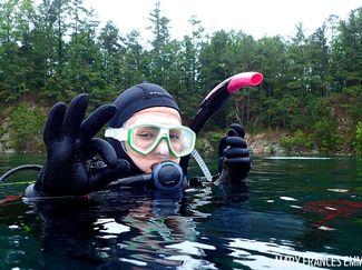 Teenage Diver