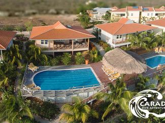 Overhead view of Caribbean Club Bonaire